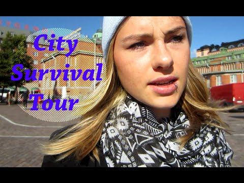 #FinlandVlogs City Survival Tour Helsinki