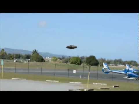 Flying Saucer Landing At Major Airport Philippines Manila 2012 UFO Sightings