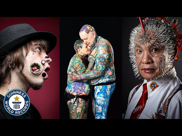 Play this video UNBELIEVABLE Body Mods - Guinness World Records