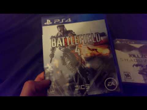 PS4 Games!!! Battlefield 4 Killzone Madden