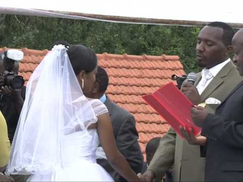 SUSAN AND NGANGA WEDDING VOWS