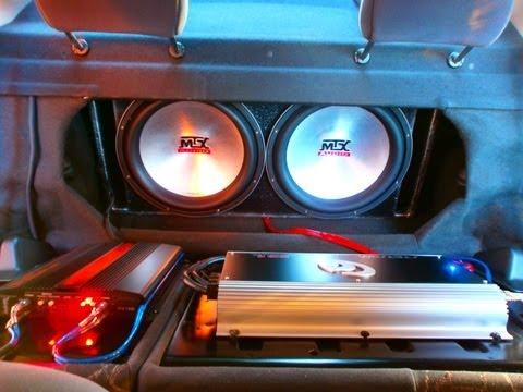 MTX 9515 2x15 + Stetsom 5k2 (2) Som Corsa
