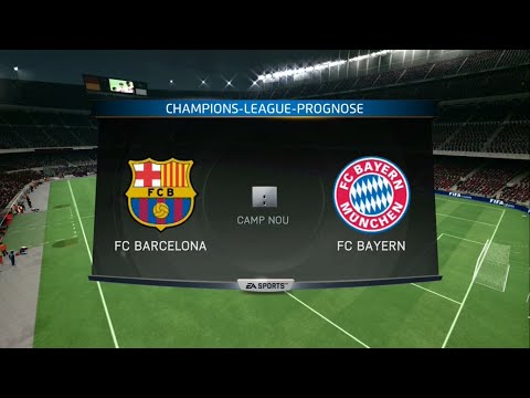 UEFA Champions League Prognose: FC Barcelona - FC Bayern München (Halbfinale-Hinspiel)