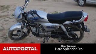 Hero Splendor Pro User Review best mileage Bikeportal