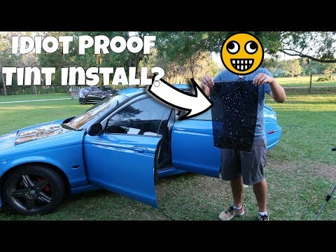 How Bad is $20 eBay Pre-Cut Window Tint? *FAIL ALERT*
