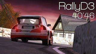 [WR] RallyD3   40'46 by riolu!