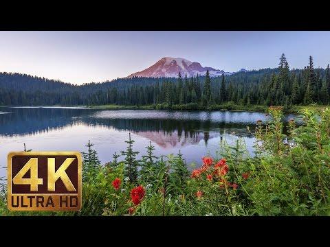 Mount Rainier National Park | 4K Nature Documentary Film Trailer 1