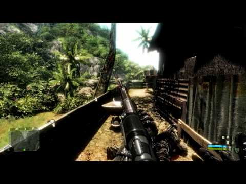 Time warp in Crysis (high-speed camera effect)