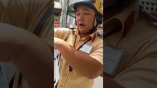 CSGT Tân Sơn Nhất dùng biển báo che khuất  bẫy  người dân