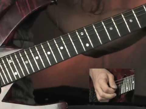Kiko Loureiro from his Rock House DVD