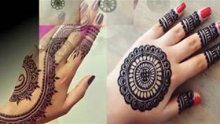 Easy And Simple Mehndi Design For Back Hand   Latest Mehndi Designs 2018   Eid   Festivals   Teej