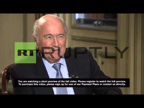 Russia: Blatter slams calls from West to boycott 2018 FIFA World Cup in Russia