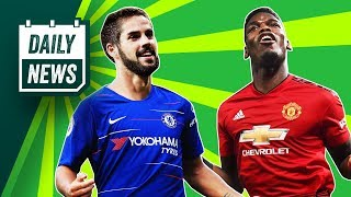 Paul Pogba shines as Man United dominate + Is Pulisic to Chelsea CONFIRMED? ► Onefootball Daily News