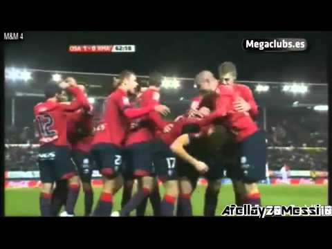 Osasuna Vs Real Madrid 1-0 Full Highlights & Goals 30.1.11 LIGA BBVA