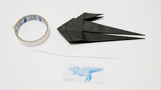 How to firm your origami with metal wire 如何以鐵絲固定摺紙作品