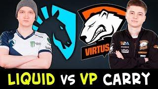 LIQUID vs VP carry battle — BEST in Dota Matumbaman vs Ramzes