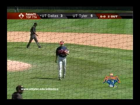 Baseball vs. UT Dallas Highlights (March 27, 2010)