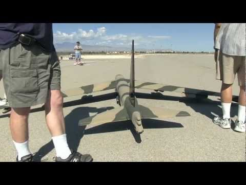 Giant RC B52 Bomber and P47,P51 Thunder birds and Blue angels