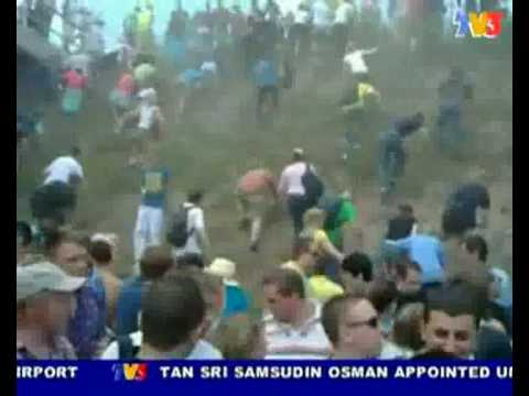 19 people killed & injured 342, at Love Parade @ Diusburg, Germany (Nightline 26/7/10)