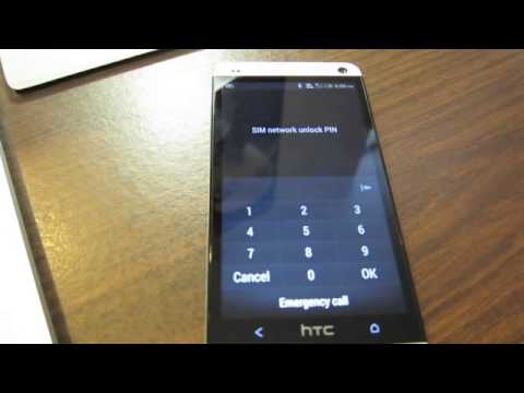 How to Unlock HTC One from ROGERS by Unlock Code, from Cellunlocker.net