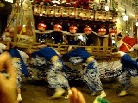 長崎 くんち 2008年10月9日 川船 榎津町