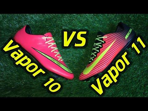 Nike Mercurial Vapor 10 vs 11 Comparison