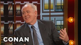 "John Lithgow Secretly Watches ""3rd Rock From The Sun"" Reruns - CONAN on TBS"