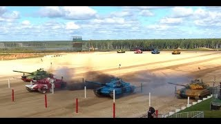 When Tanks Turn Into Race Cars - International Army Games 2017 in Russia