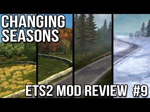 ETS2 Mod Reviews #9 - Changing Seasons