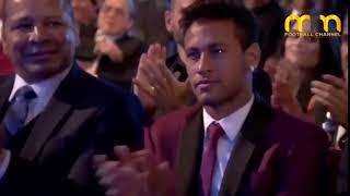 فيديو.. هل سخر ميسي من فوز رونالدو بجائزة الأفضل