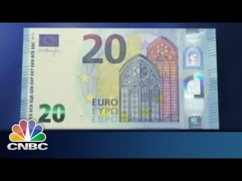 Draghi Unveils New Innovative Banknote | CNBC International