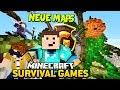 NEUER TANZ! + 5 NEUE MAPS - Minecraft SURVIVAL GAMES