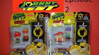 JOHNNY TEST Collection EPISODE 2 Unboxing SERIES 1 Mystery 2 Blind Box RARE Figurines set