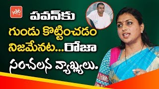 YSRCP MLA Roja Controversy Comments On Jansena Chief Pawan Kalyan Gundu Issue