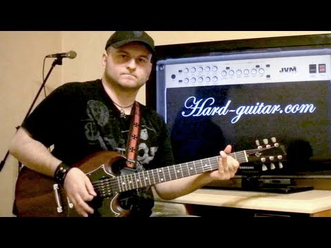 AC/DC Big Gun Guitar Lesson (how to play Big Gun tutorial with tabs and lyrics) Angus Young