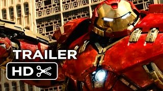 Video clip Avengers: Age of Ultron Official Trailer #1 (2015) - Avengers Sequel Movie HD