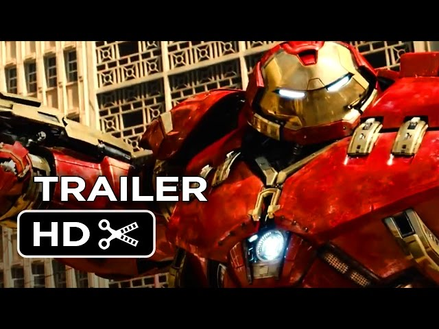 Avengers 2: Age of Ultron Official Trailer #1 (2015) - Avengers Sequel Movie HD