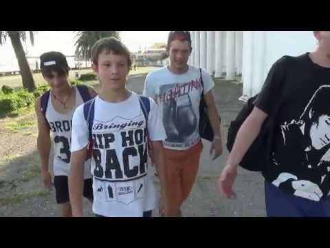 Break-dance Туапсе-Абхазия 2014 07 28