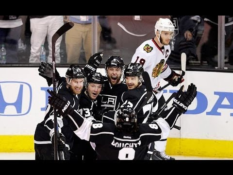 Los Angeles Kings vs Chicago Blackhawks 2014 Stanley Cup Playoffs Game 4