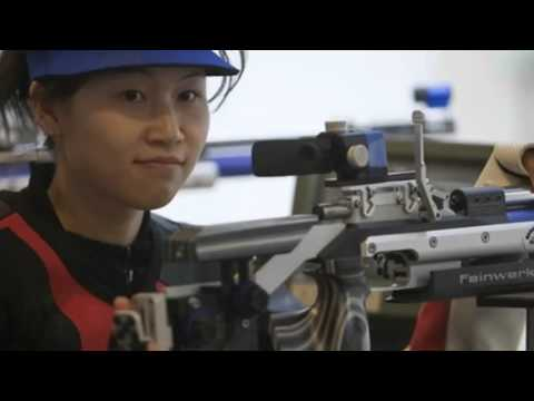 China's Yi Siling wins 10m Air Rifle First Gold Of Games