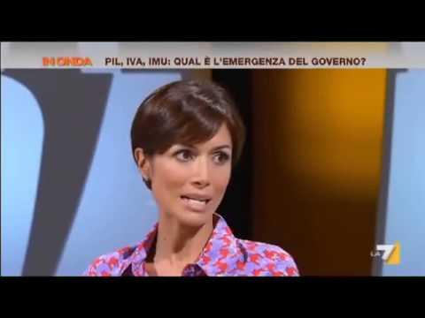 Mara Carfagna ad In Onda 22/07/2013