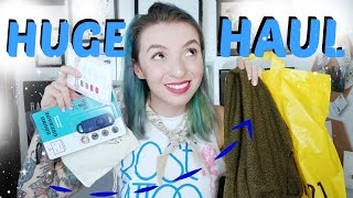 Try on Haul! Thrift, F21, Beauty, and Online!