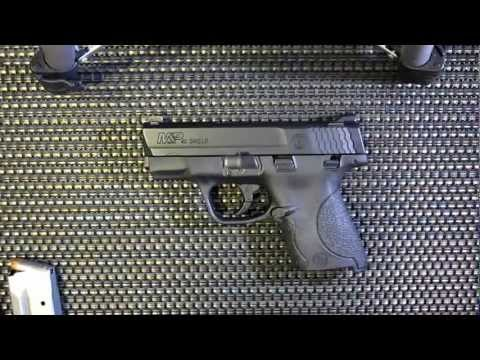 M&P Shield .40 S&W/9mm tabletop review