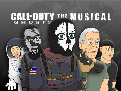 CALL OF DUTY: GHOSTS THE MUSICAL - Animated Parody Music Video