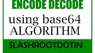 download lagu Base64 Encode Decode Method gratis