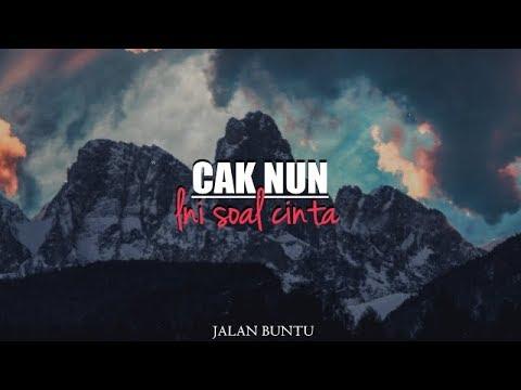 INI SOAL CINTA - CAK NUN (Musicly)