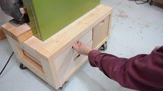 Bandsaw drawers