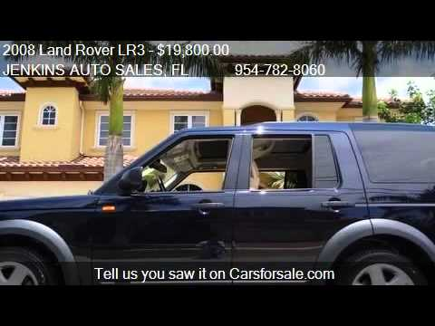 2008 Land Rover LR3 HSE - for sale in Pompano Beach, FL 3306