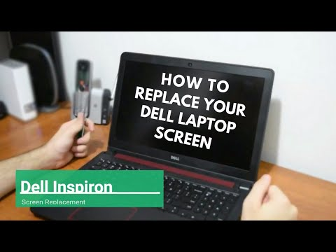 Dell Inspiron screen replacement / How to replace broken laptop screen on a Dell Inspiron 7559