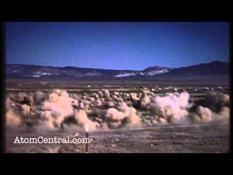 شاهد كيف يقع الانفجار النووي تحت الأرض